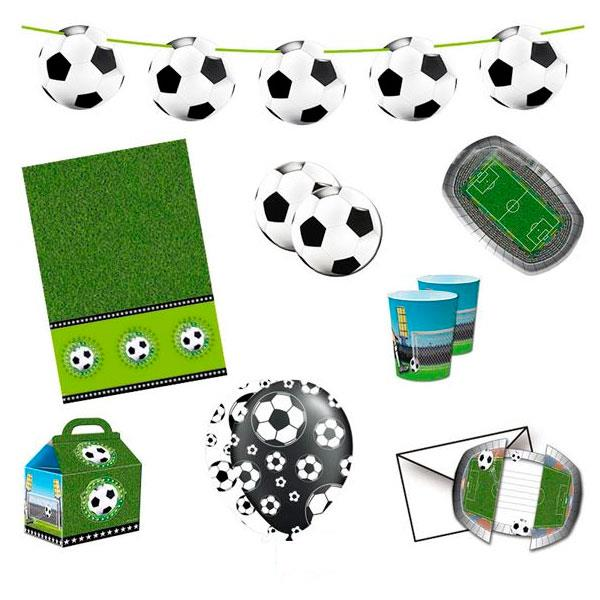 Party Kit Fútbol (8 Personas)