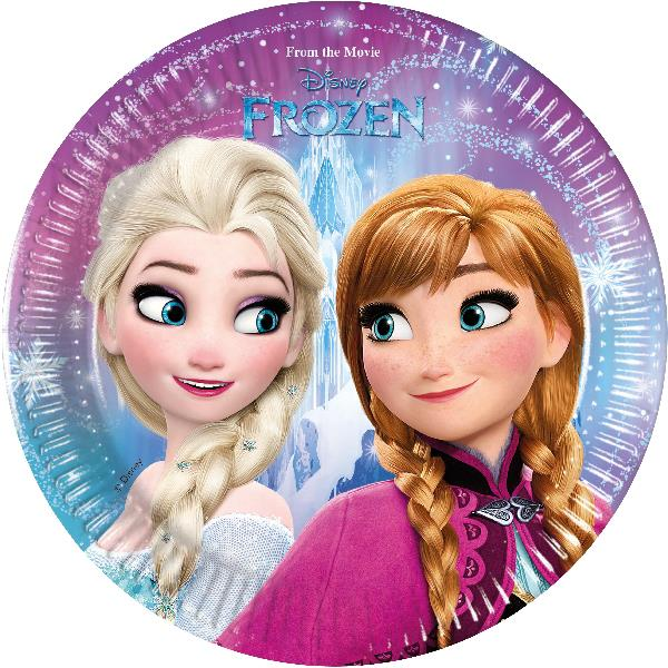Platos Frozen (Pack de 8)