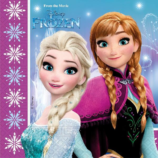 Servilletas Frozen (Pack de 20)