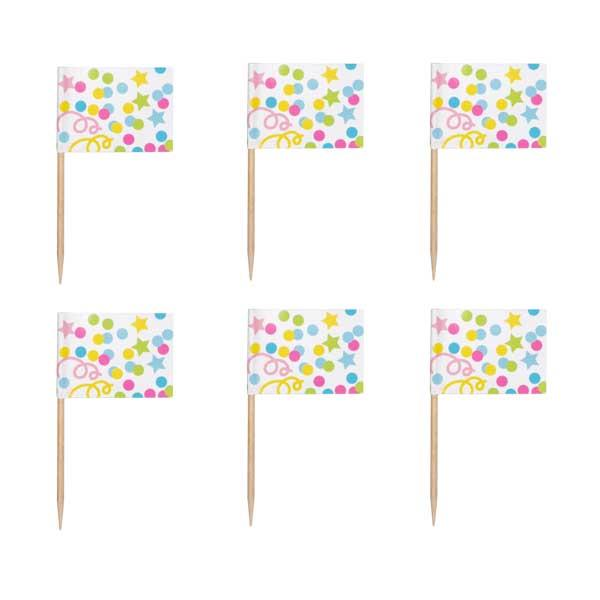 Picks Multicolor (Pack de 24)