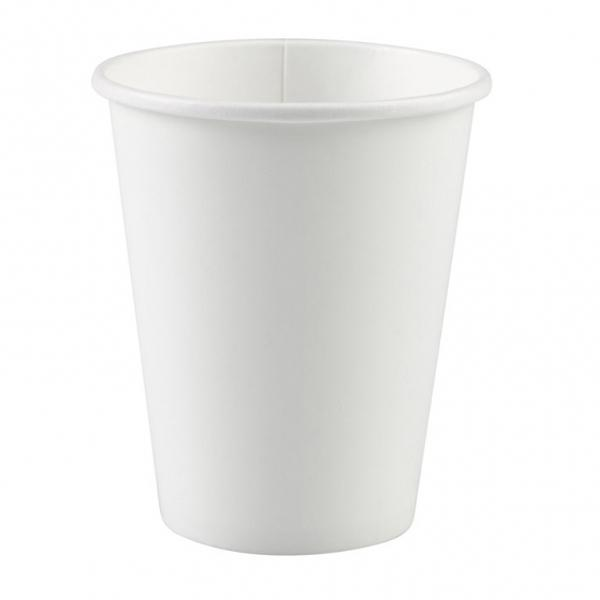Pack 8 Vasos Papel Blanco