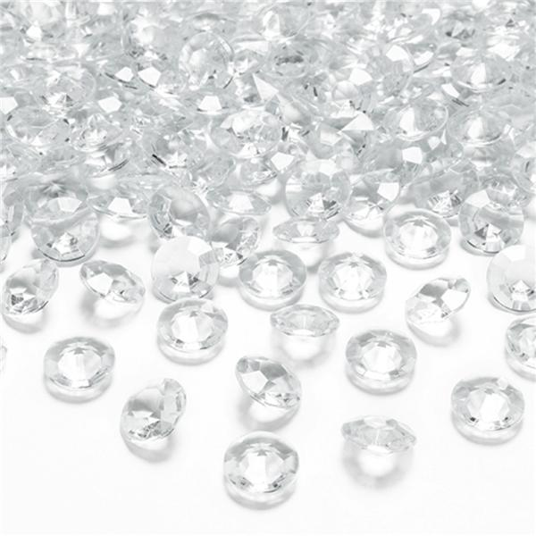 Pack 100 Diamantes Transparentes