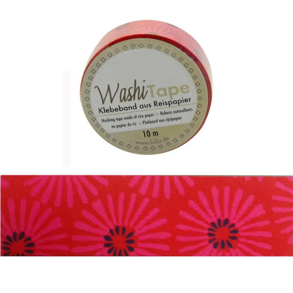 Washi-Tape Fucsia Margaritas