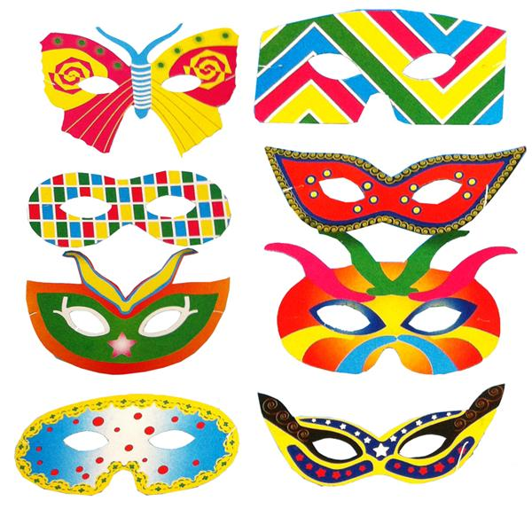 Antifaz Carnaval (Pack 10 uds)