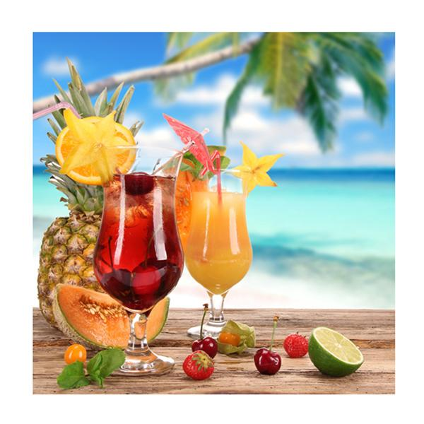 Pack 20 Servilletas Cocktail Tropical