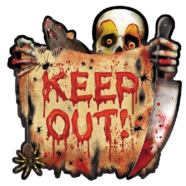 Cut-Out KEEP OUT