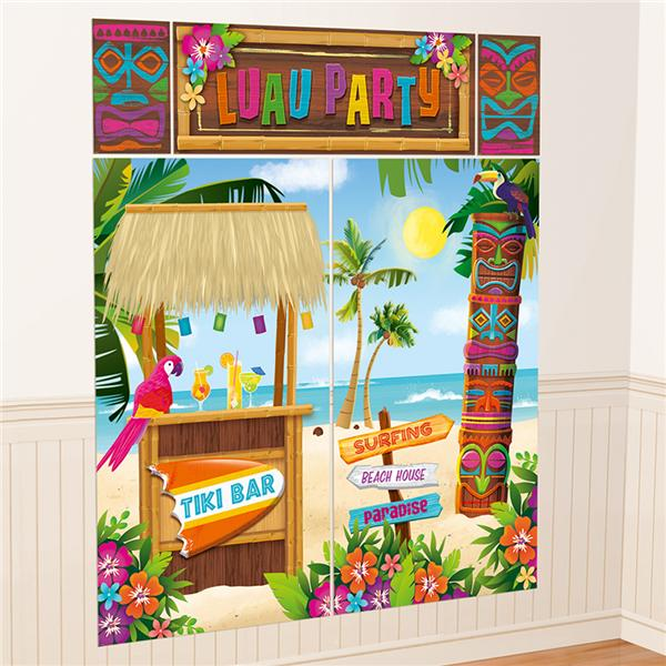 Decoración Tiki Bar