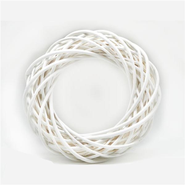 Aro Decoración Blanco (25 cm)