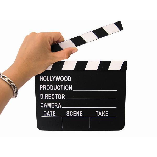 Claqueta Hollywood en Madera