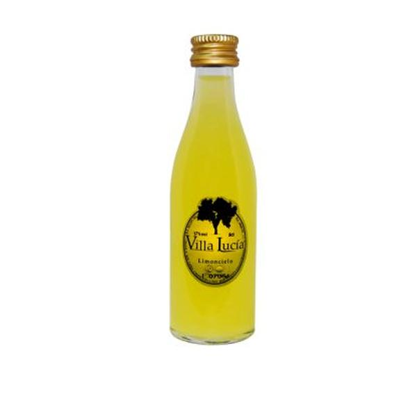 Botella Mini Licor Limoncello