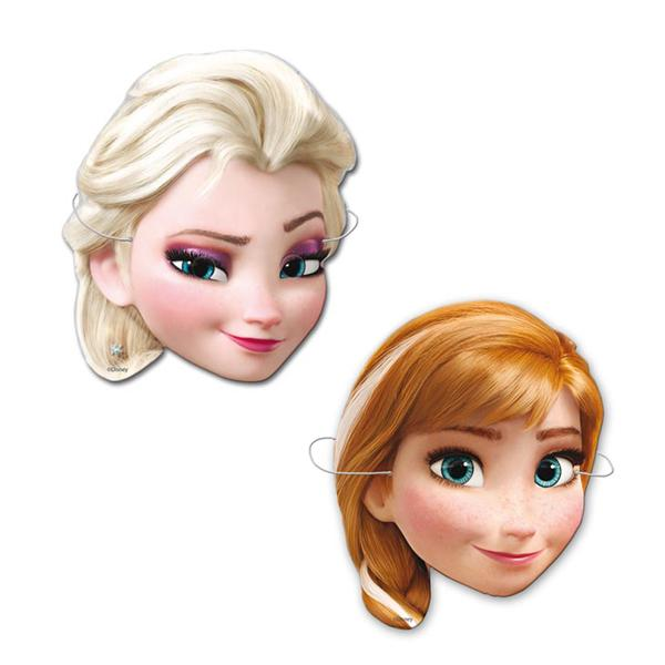 Caretas Frozen (Pack de 6)