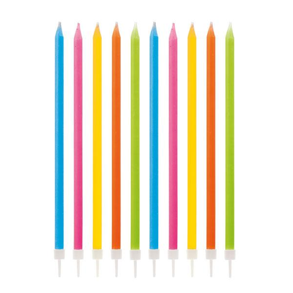 Velas Magicas Multicolor (Pack de 10)