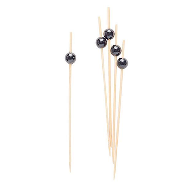 Picks Perla Negro (Pack de 25)