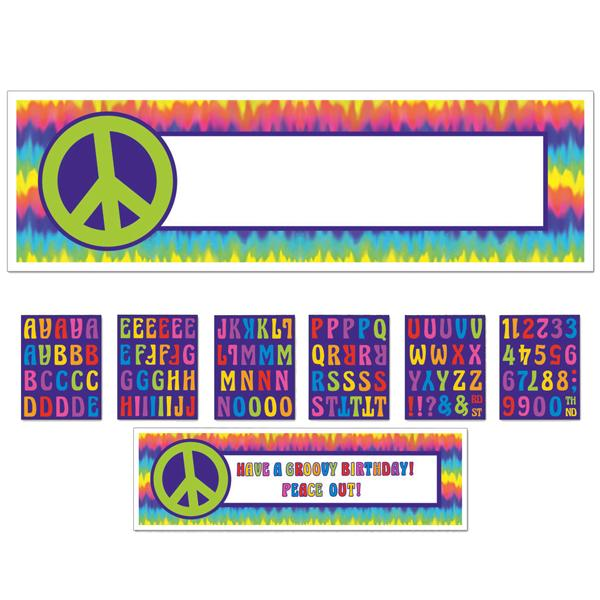 Banner Gigante Personalizable Hippie