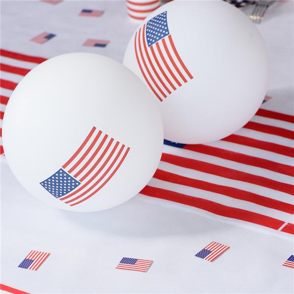 Comprar globos decorados con la bandera de estados unidos for Decoracion estados unidos