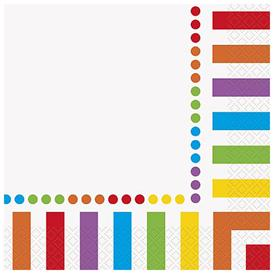 Servilletas Multicolor (Pack de 16)
