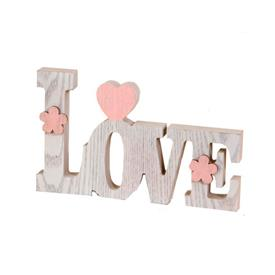 Letras Decorativa LOVE Madera