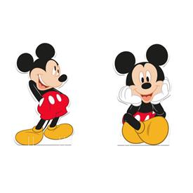 Mini Figuras Mickey Mouse (Pack de 4)
