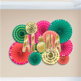 Kit Decoración Aloha (Pack de 22)