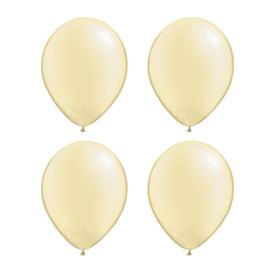 Globos Marfil Perla Qualatex (Pack de 25)