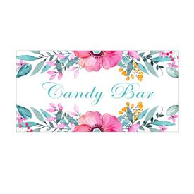 Cartel Acuarela Candy Bar
