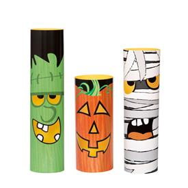 Mini Centros de Mesa Halloween (Pack de 3)
