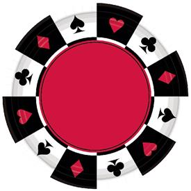 Platos Casino (Pack de 8)