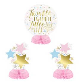 Centros de Mesa Baby Shower (Pack de 3)
