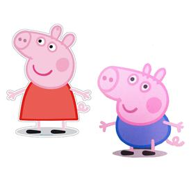 Pack 2 Figuras Medianas Peppa