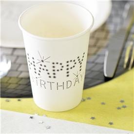 Vasos Happy Birthday (Pack 10)