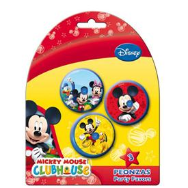 Peonza Mickey Mouse (Pack de 3)