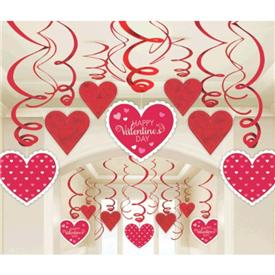 Decoracion Happy Valentine (Pack de 30)