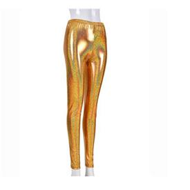 Leggings Neon Oro
