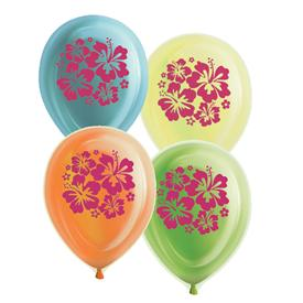 Globos CON LUZ Hawaii (Pack de 5)
