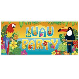 Banner Gigante Luau Party